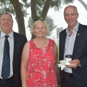 David Brett, Jo Sheppard & Pat Weir MP
