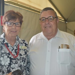 Cr Anne Glasheen & Peter Stronge