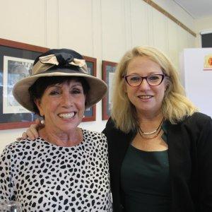 Cr Carol Taylor & Anita McVeigh