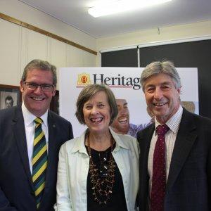 Hon Dr John McVeigh MP & Dr Dennis Campbell