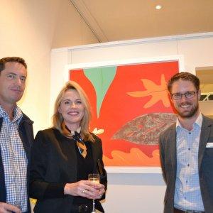 David & Louse Sanderson & Michael Fleming