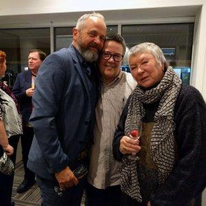 David Usher, Sue Pottinger & Sandy Pottinger