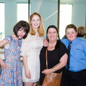 Meghan Halliwell, Rachel Allen, Jane Christie & Nicholas Christie