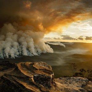 'Mt Solitary Hazard Burn' by Lauren Hook