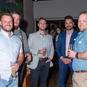 Luke, Brad, Jai, Gurdeep and Peter